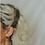 Thumbnail: Barrette Amok noire - Pois