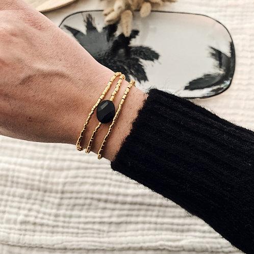 Composition bracelets Alba - Noir