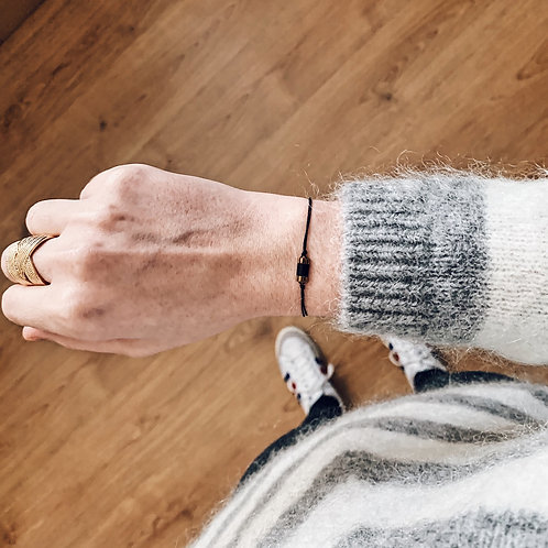 Bracelet Mia n°1 - Noir