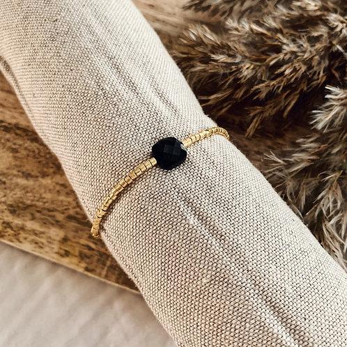 Bracelet Happy - Noir