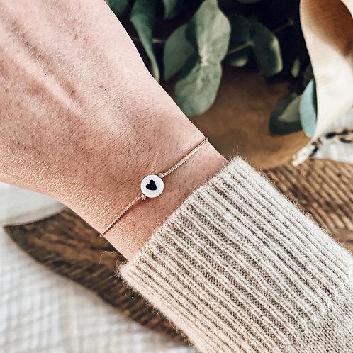 Bracelet Coeur - Noir