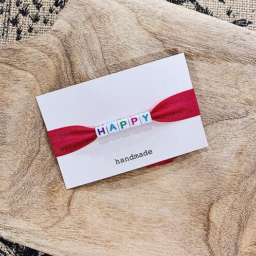 Bracelet Happy - Coloré