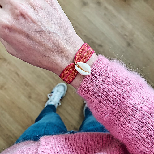 Bracelet Summer - Rose pailleté