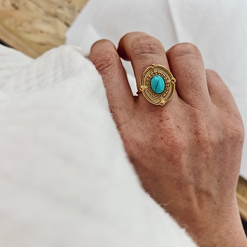 Bague Luce - Turquoise