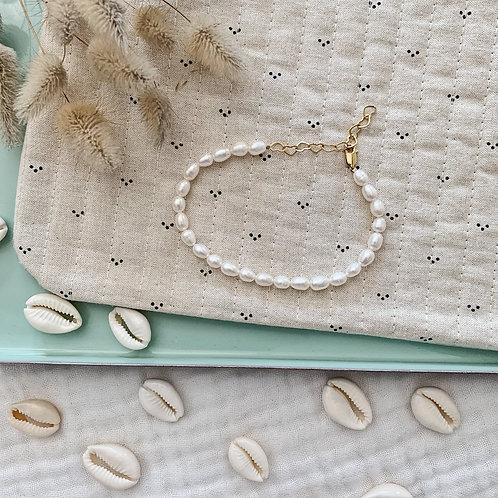 Bracelet cheville Pearl