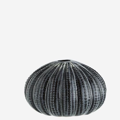 Vase oursin gris foncé - Grand