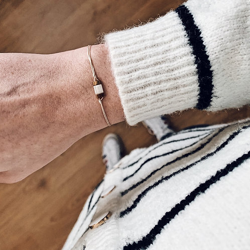 Bracelet Mia n°1 - Blanc