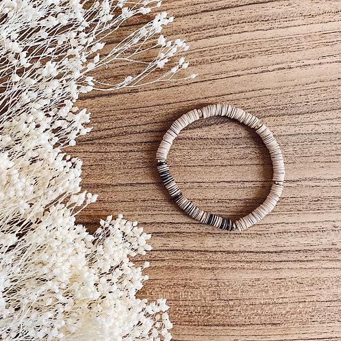 Bracelet Heishi - Beige
