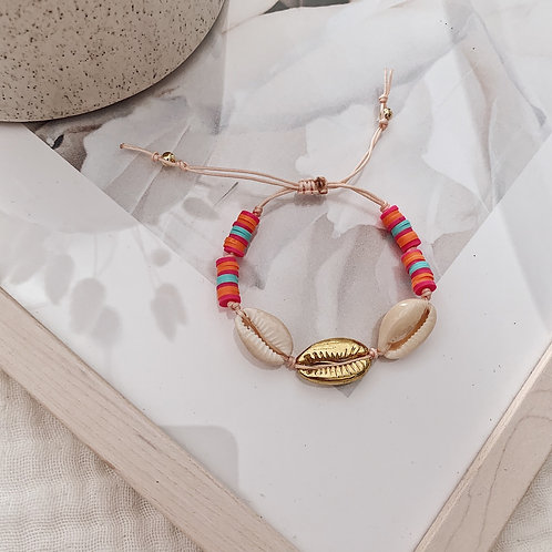 Bracelet Acapulco - Multi/doré