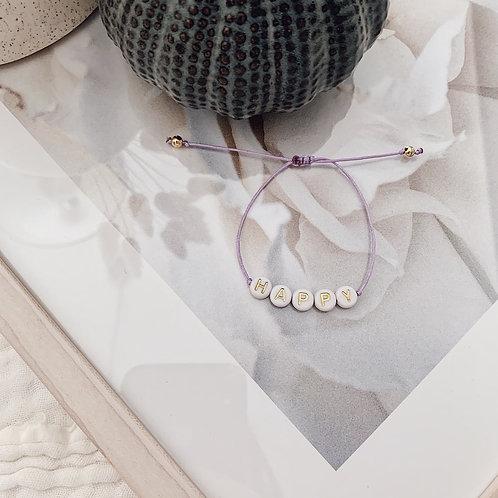Bracelet Happy - Doré