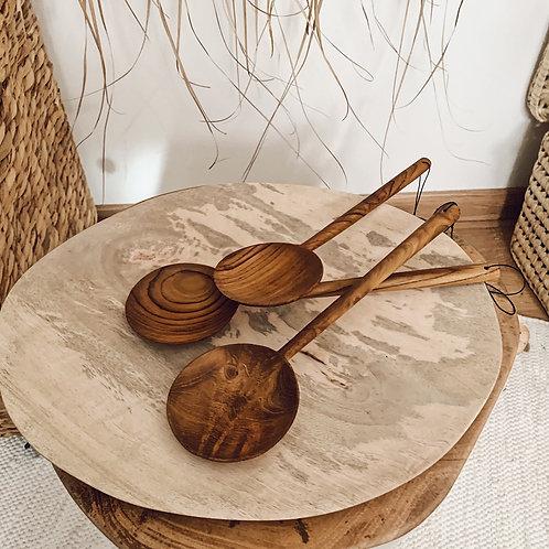 Grande cuillière en bois