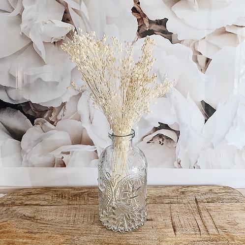 Vase Marius avec fleurs séchées