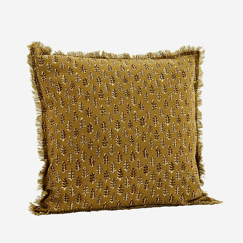 Coussin leaf - Ocre
