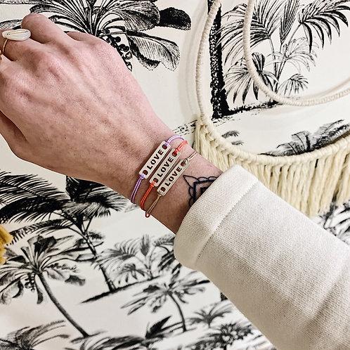 Bracelet Love - Argenté