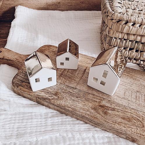 Petite maison lumineuse à LED