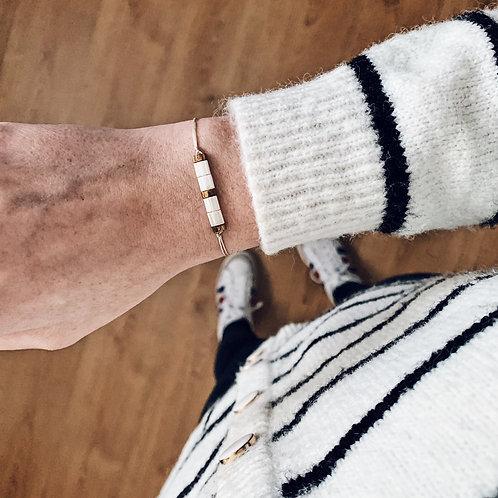 Bracelet Mia n°3 - Blanc