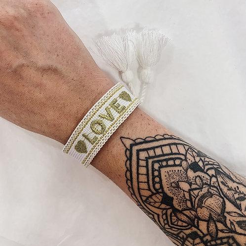 Bracelet tissé - Love