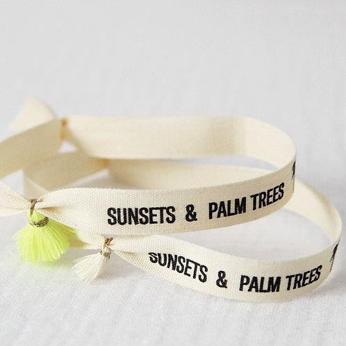 Bracelet ruban HER - Sunsets