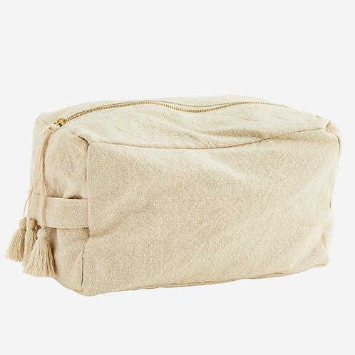 Grande trousse en coton - Ecru