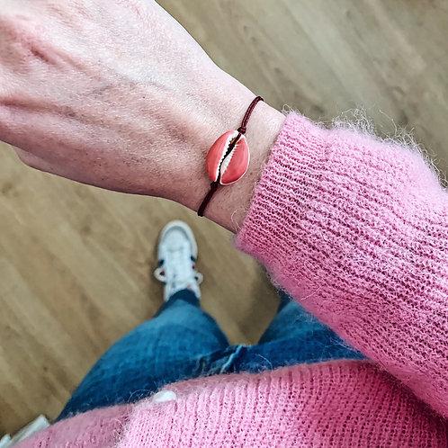 Bracelet Cauri - Terracota