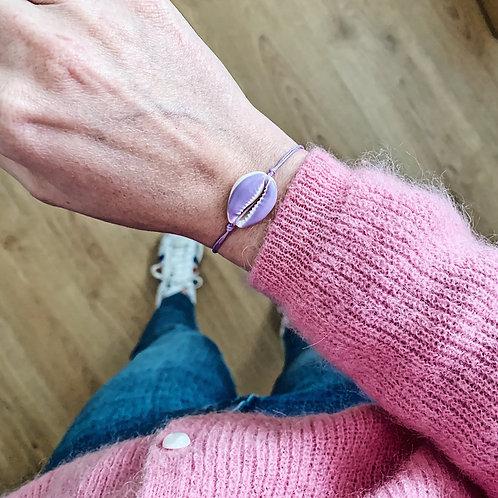 Bracelet Cauri - Lilas