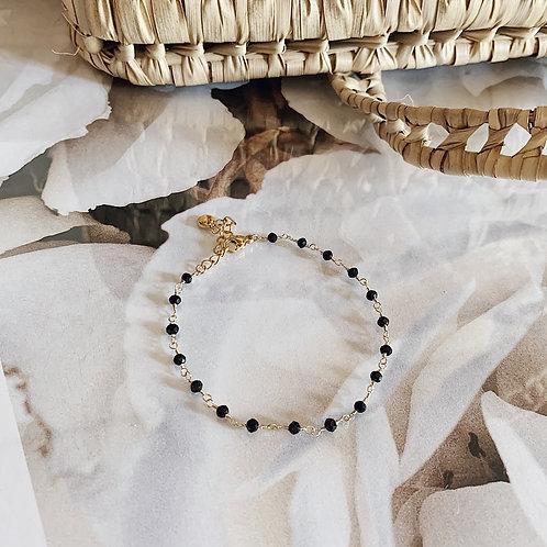 Bracelet Valentin - Noir