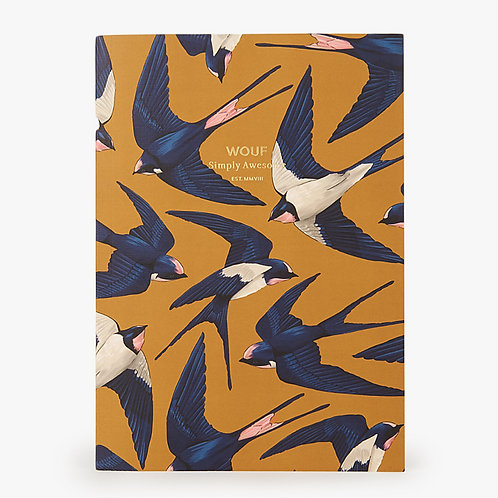 Carnet A5 - Birds