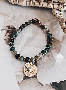 Bracelet Eliott - Agate indienne