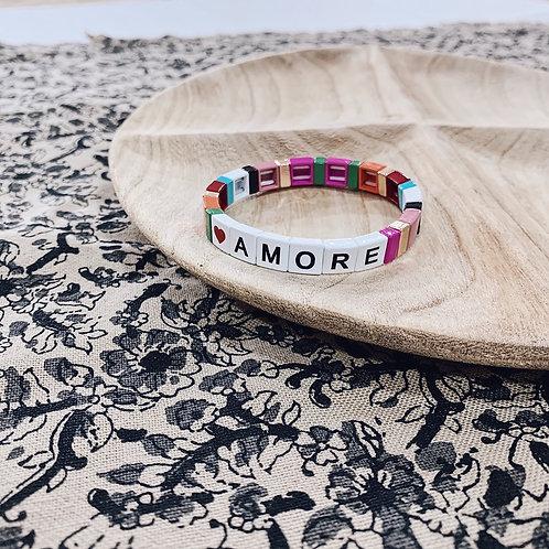 Bracelet WORD - Amore multi
