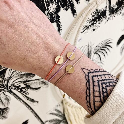 Bracelet Bonheur - Argenté ou doré