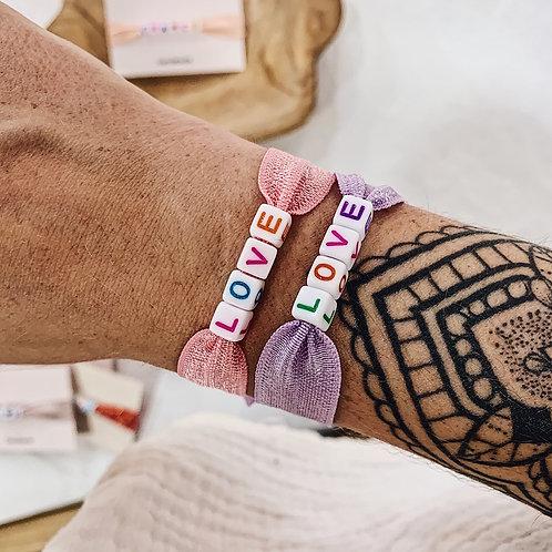 Bracelet Love - Coloré
