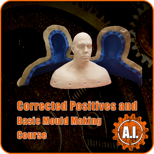 Corrected Positives and Basic Mould Making Course - 5 day course Feb 3rd - 7th