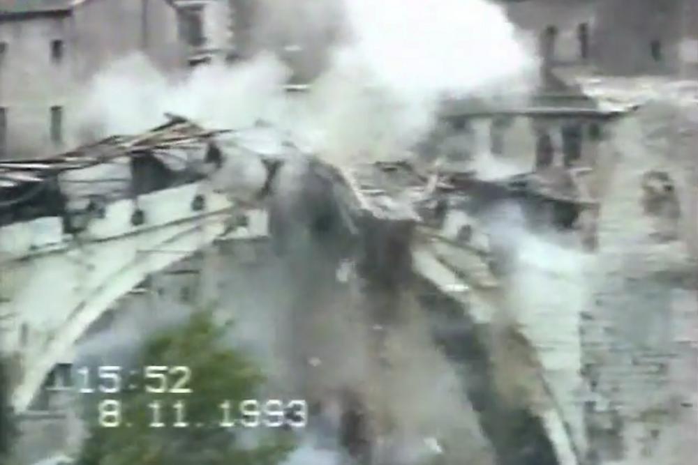 The Destruction of Stari Most Bridge