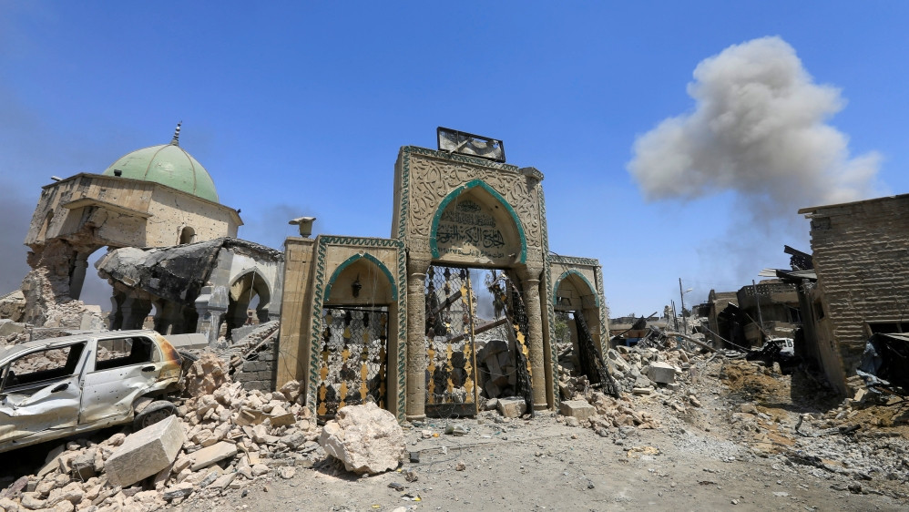 Destroyed Great Mosque of al-Nuri (Mosul)