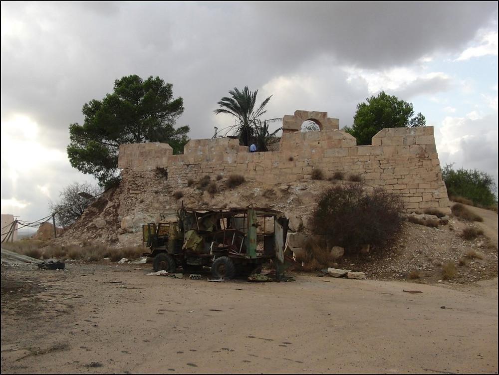 Ras al-Mergeb, a Libyan fortified farm. 2011, © K von Habsburg.