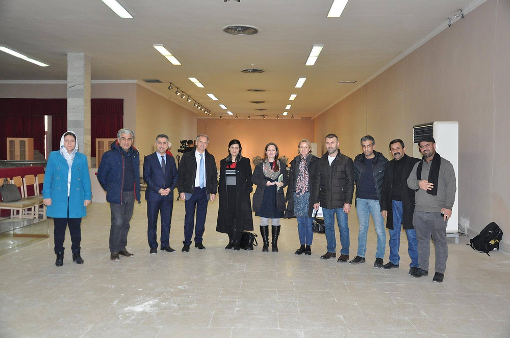 RASHID and MENTICA Project co-director President Prof Roger Matthews with RASHID Secretary Dr Rozhen Mohammed-Amin, MENTICA Project co-director Dr Wendy Matthews and Field and Data Manager Dr Amy Richardson visited the Slemani Museum in December 2018 as part of an on-going project to develop content for the museum that is framed within the principles of sustainable development.
