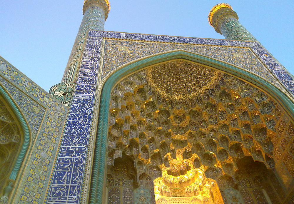 The Imam Mosque (Shah Mosque), UNESCO World Heritage Site, Imam Square, Iran. By Ladsgroup, via Wikimedia commons