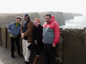 Touring Ireland with the Jeff Scroggins Band