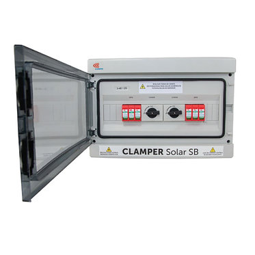 CLAMPER Solar String Box  4E/2S