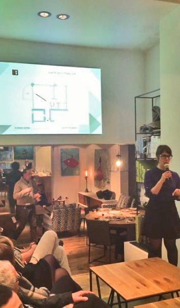 הרצאה בגלריה אורבניק
