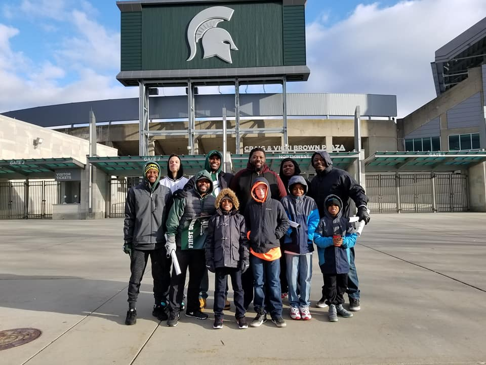MOVE at MSU Spring Game