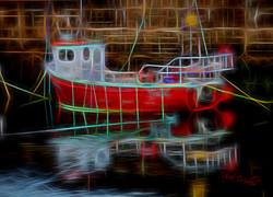 Fish Boat Glow