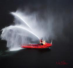 Fire Fighting Vessel
