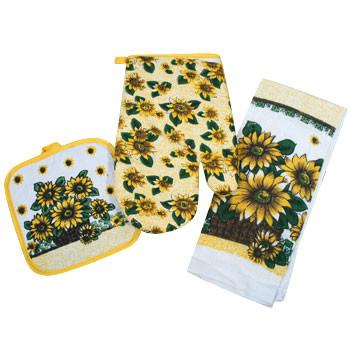 sunflowers and cinder blocks