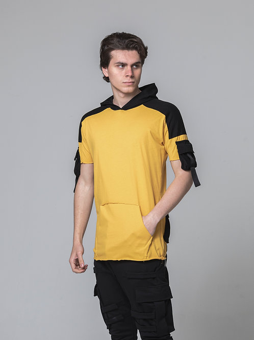 Syn-o T20 Back design pockets Hip-Hop street fashion dancer Hoodie T-shirt
