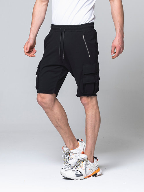 Syn-o Hip Hop Dance style Summer Fun Black Short