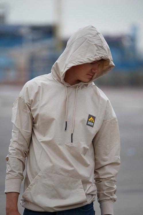 Winter jacket Pullover Hoodie raincoat Jacket white D15