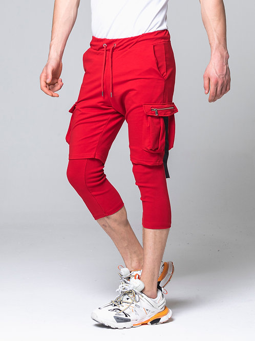 Syn-o Jogger Hip Hop Dance style Red Short