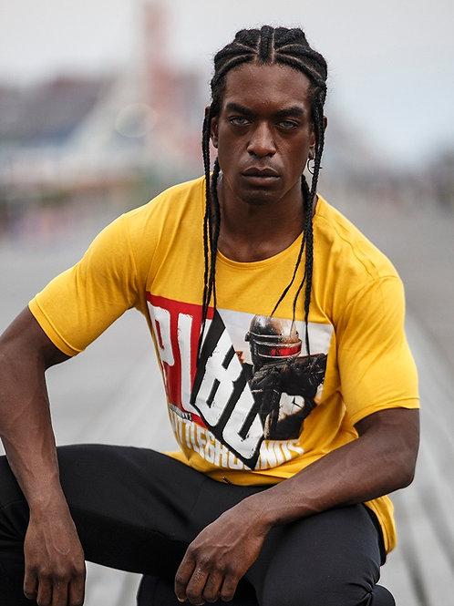 Z 29 Unisex Men Women  street fashion yellow graphic T-shirt
