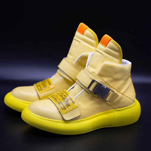 Syno S800 Yellow Light Stylish Dance  Hip Hop shoes